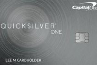 Capital One QuicksilverOne Cash Rewards Credit Card