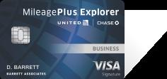 United MileagePlus Explorer Business Card