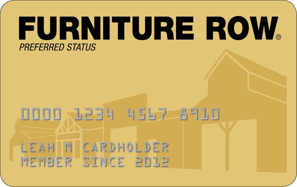 Furniture Row Credit Card:Compare Credit Cards